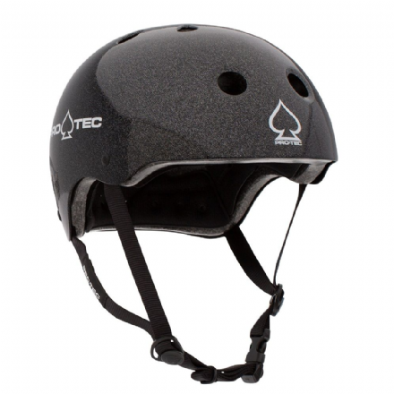 Pro-Tec Classic Certified Helmet Black Metal Flake Medium